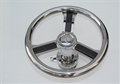 "Wheel With ¾"" Taper Stainless Hub / Z Center And Bottom Mounted Carbon Fiber Spokes With Trim Ring"