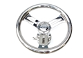"Wheel With ¾"" Taper Stainless Hub / Z Center And Top Trim Ring"