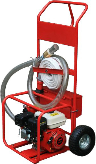 Portable Fire Suppression Equipment : Portable fire pump fighting system complete