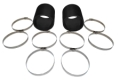 CORSA  Marine Exhaust HOSE AND CLAMP KIT - 17000