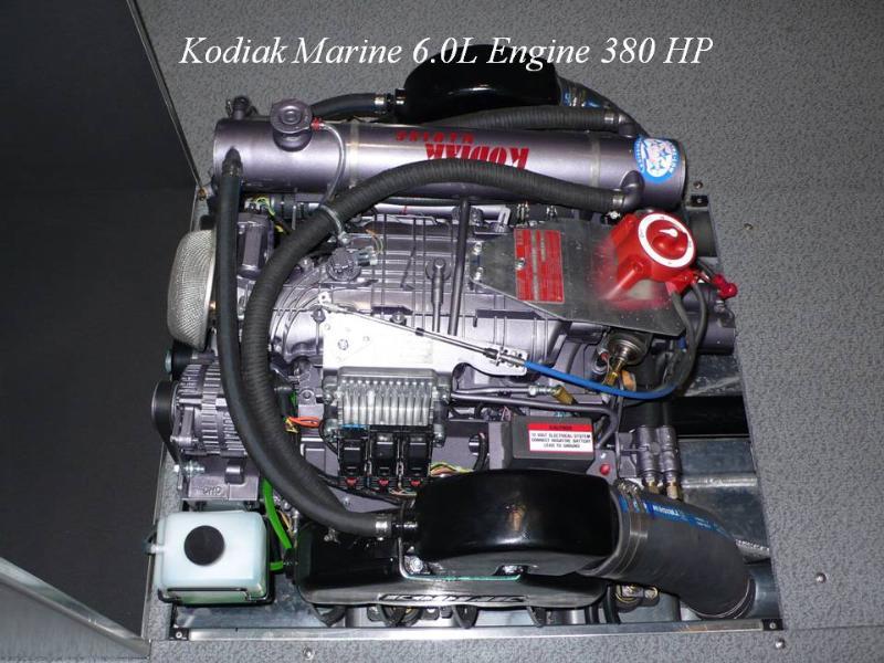 Kodiak Marine Liter Fresh Water Cooled Marine Engine Hp