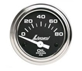 INDUSTRIAL SERIES  ELECTRIC OIL PRESSURE LIVORSI GAUGE (0-80 PSI) - DCSOP80