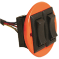 Livorsi Trim Switch Single With Wires - TSSW