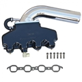 PowerFlow LS Manifold and Riser Kit Black (Sold in pairs) - 02-8382