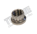 SS 12 Point Nut - 7/16-20