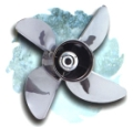 HYDROMOTIVE INTIMIDATOR QUAD IV PLUS PROPELLER