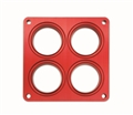"Quick Fuel Shear Plate Model 4500 Style 2.125"" Bore"