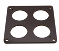 "Quick Fuel Phenolic Carb Spacer 1/4"" 4 Hole 300-4010"