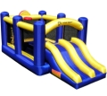 Island Hopper Racing Slide and Slam Recreational Bounce House - RACSLDSLM