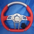 ISOTTA RED VALLELUNGA MARINE STEERING WHEEL