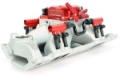 Fuel Air Spark Technology (F.A.S.T) Small Block Chevy EFI Single Plane Intake Manifold w/ Fuel Rails  12903-KIT