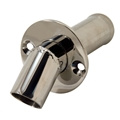 "Stainless Marine 1-1/4"" Angled Polished Stainless Steel Water Dump - 520-AG125"
