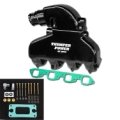 IMCO Thumper Power Big Block Manifold & Riser Kit Black (Sold in pairs)