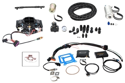 Quick Fuel Injection Black Diamond Finish Injection Kits