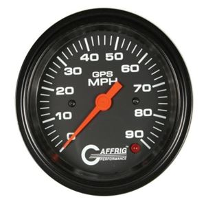 GAFFRIG 3 3/8 GPS ANALOG 90 MPH SPEEDOMETER - HEAD ONLY