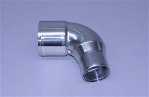 "4"" x 3"" – 78° Polished Stainless Reducing Elbow Short Radius"