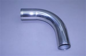 "3"" Polished Stainless Long Radius 90° Elbow"