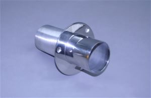 "3"" Exhaust Tip Straight flange / Straight end - 03-3109090-00"