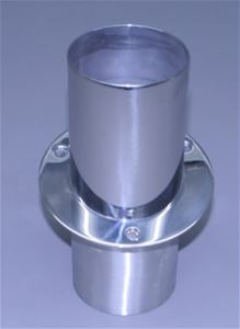 "4"" Exhaust Tip Straight flange / Straight end with Internal Stainless Super Flap - PER TIP - 03-4109091-00"