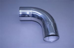 "5"" Polished Stainless Long Radius 90° Elbow"
