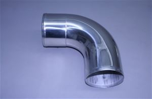 "6"" Polished Stainless Long Radius 90° Elbow"