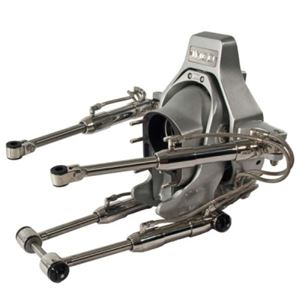 IMCO COMPLETE GIMBAL ASSEMBLY - WITH STEERING - SILVER