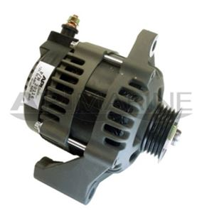 12V 50-AMP SERPENTINE PULLEY ALTERNATOR REPLACEMENT FOR MERCURY #881247A1 AND OTHERS - 20117-AM