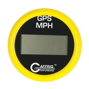 GAFFRIG 3 3/8 GPS DIGITAL 200 MPH SPEEDOMETER HEAD ONLY - 4020