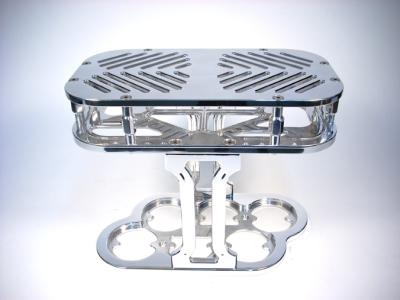 BILLET  BATTERY BOX - GROUP 31 OPTIMA - STEP TOP