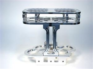 GROUP 31 BILLET OPTIMA BATTERY BOX - STRINGER MOUNT WITH STEP TOP