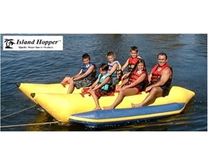 6 PASSENGER SIDE BY SIDE HEAVY DUTY COMMERCIAL BANANA BOAT