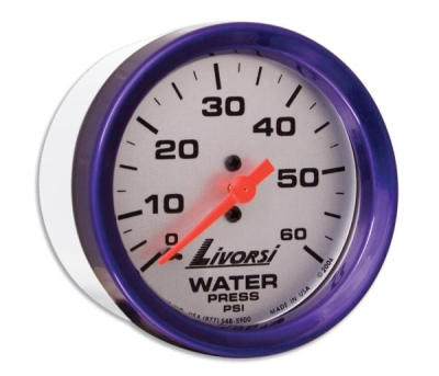 LIVORSI 2 5/8 RACE SERIES WATER PRESSURE 0-60 PSI