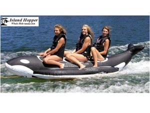 """HEAVY DUTY RECREATIONAL"" 3 MAN WHALE BANANA BOAT"