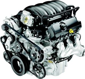 KODIAK CHEVROLET 4.3 LITER V6 VVT DIRECT INJECTION (LV3) FRESH WATER COOLED MARINE ENGINE - 305HP - 3 Year Warranty - EPA/CARB Certified - With CAT