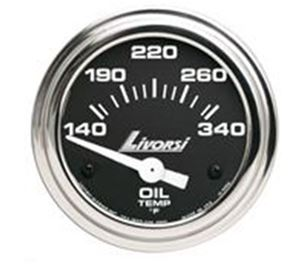 INDUSTRIAL SERIES  ELECTRIC OIL TEMPERATURE LIVORSI GAUGE - DCSOT