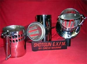 SHOTGUN EXHAUST FLOW MANAGEMENT SYSTEM (EXFM) (PAIR)