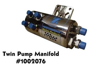 ZEIGER TWIN PUMP PRIORITY MANIFOLD WITH BUILT IN FILTER - 1002076